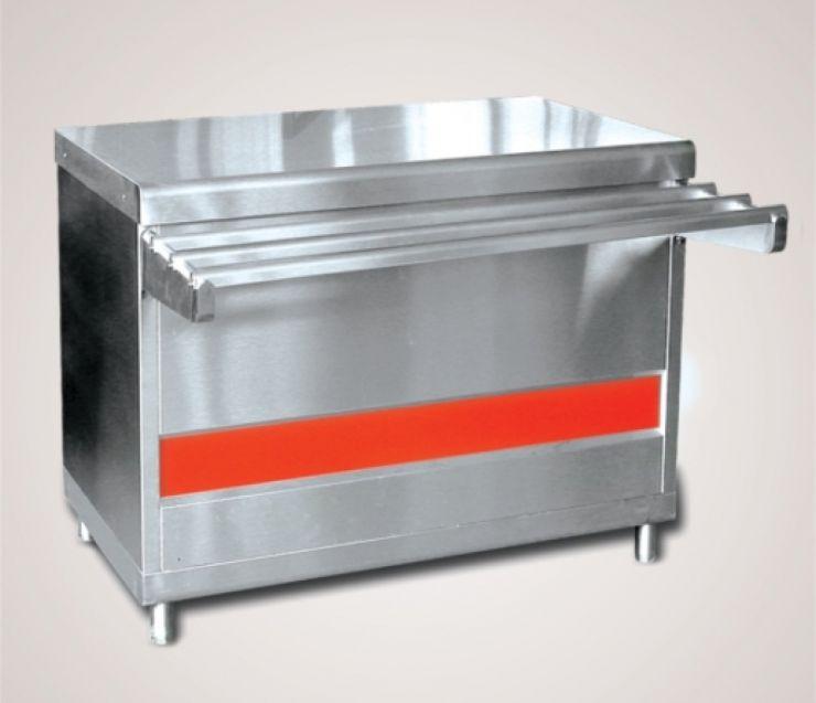 Прилавок для горячих напитков ПГН-70КМ-03 нейтральный стол
