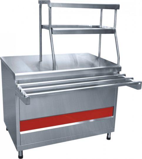 Прилавок для горячих напитков ПГН-70КМ-01 нейтральный стол